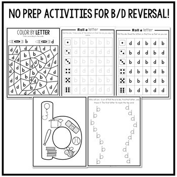 b and d Reversal Intervention Pack