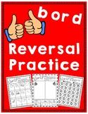 b and d Reversal Practice