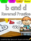 b and d Reversal Practice (Orton-Gillingham)