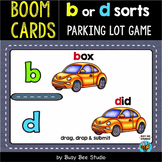 b and d confusion game | Boom Cards