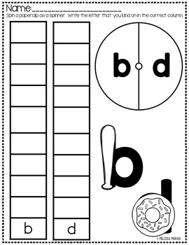 b and d confusion practice