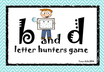b and d letter hunters game