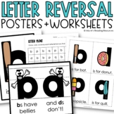 b and d reversal poster {'b's have bellies}