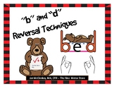 b and d reversal technique posters and activities