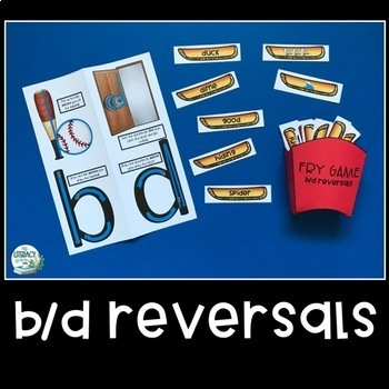 b and d reversals - French Fry Game