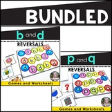 b and d reversals p and q reversals Bundled
