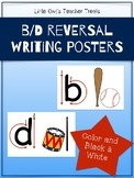b/d Reversal Writing Posters