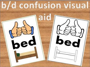 b/d confusion visual aid