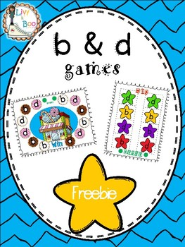 FREEBIE - b & d game - Letter Reversal Practice