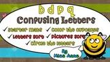 b d p q Confusing Letters