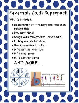 b d reversals SUPER PACK games research based practice visuals for desk