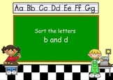 b or d?  Helping students recognize the difference.