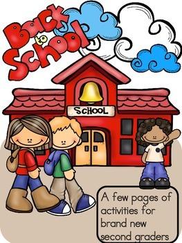back to school activities second grade