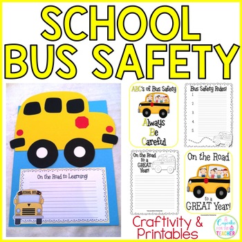 The Wheels on the Bus {Bus Safety, Craftivity, & Printables}