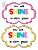 back to school gift labels stars shaped and other styles