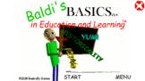 baldis fun math game