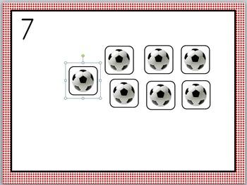 ball counting matts
