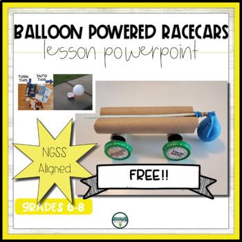 balloon Powered Race Cars PP