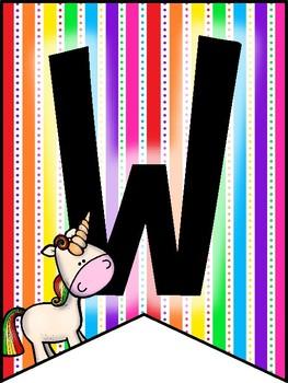 banner: welcome_unicorn theme