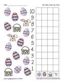 bar graph easter egg theme plus bonus