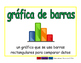 bar graph/grafica de barras prim 2-way blue/verde