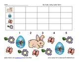 bar graph spring theme easter bunny