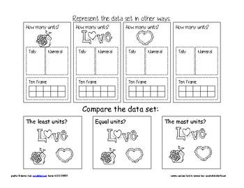 bar graph valentine's day theme