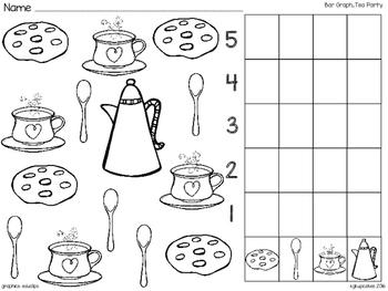 bar graph_tea party with bonus scrambled sentences