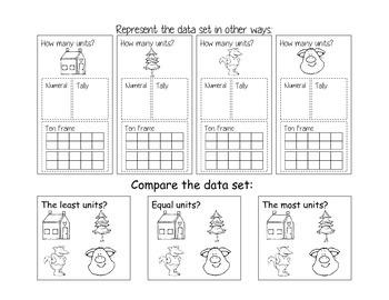 bar graph_three little pigs_plus bonus story sequence