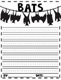 bats writing template