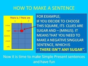 battle game for simple present tense (moderate mode)