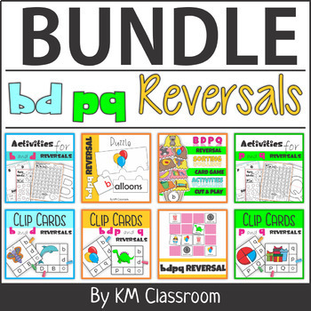 bd pq Reversals Activities BUNDLE