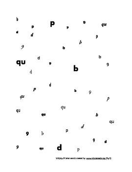 b/d/p/q/9 Reversals