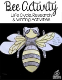 Bee Craft:Science,Language Arts,Editable Writing Prompts