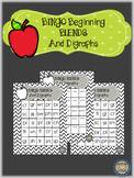 beginning blend and digraph bingo