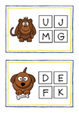 beginning letter sounds worksheet and flash cards