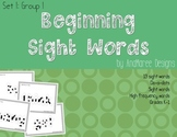 beginning sight words, set 1, group 1. Do-a-dots
