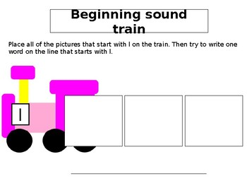 beginning sound trains