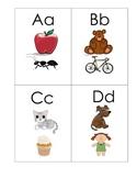 beginning sounds alphabet cards