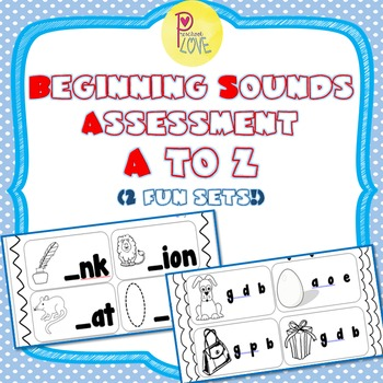 Beginning Sounds Worksheet