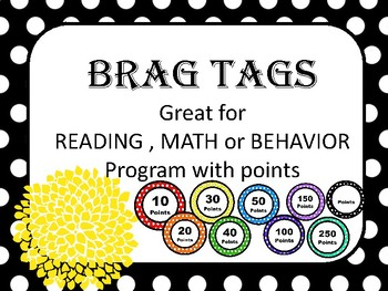 behavior management BRAG TAGS