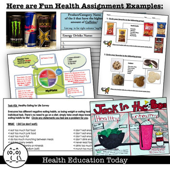 P.E. and Health Curriculum Bundle: My 45 Best Health & Fitness Activities