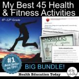 P.E. and Health Fun Bundle: My 45 Best Health & Fitness Ac
