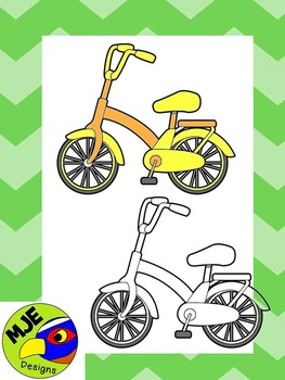 bicycle clipart(free for commercial use)