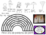 bilingual preschool sight word book club first 6 weeks