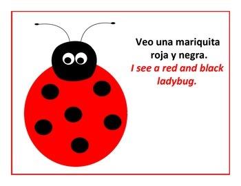 bilingual spanish Level A reader