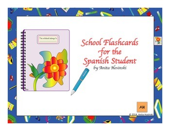bilingual spanish flashcards for the Spanish student