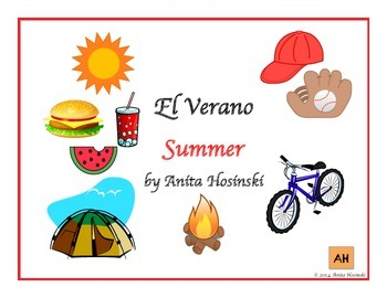 bilingual spanish posters summer theme