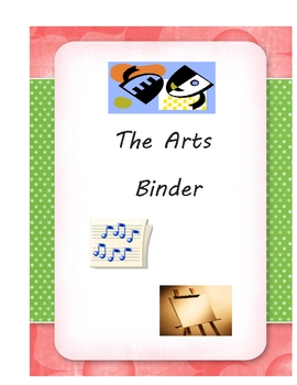 binder pages for teachers