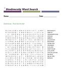 biodiversity word search